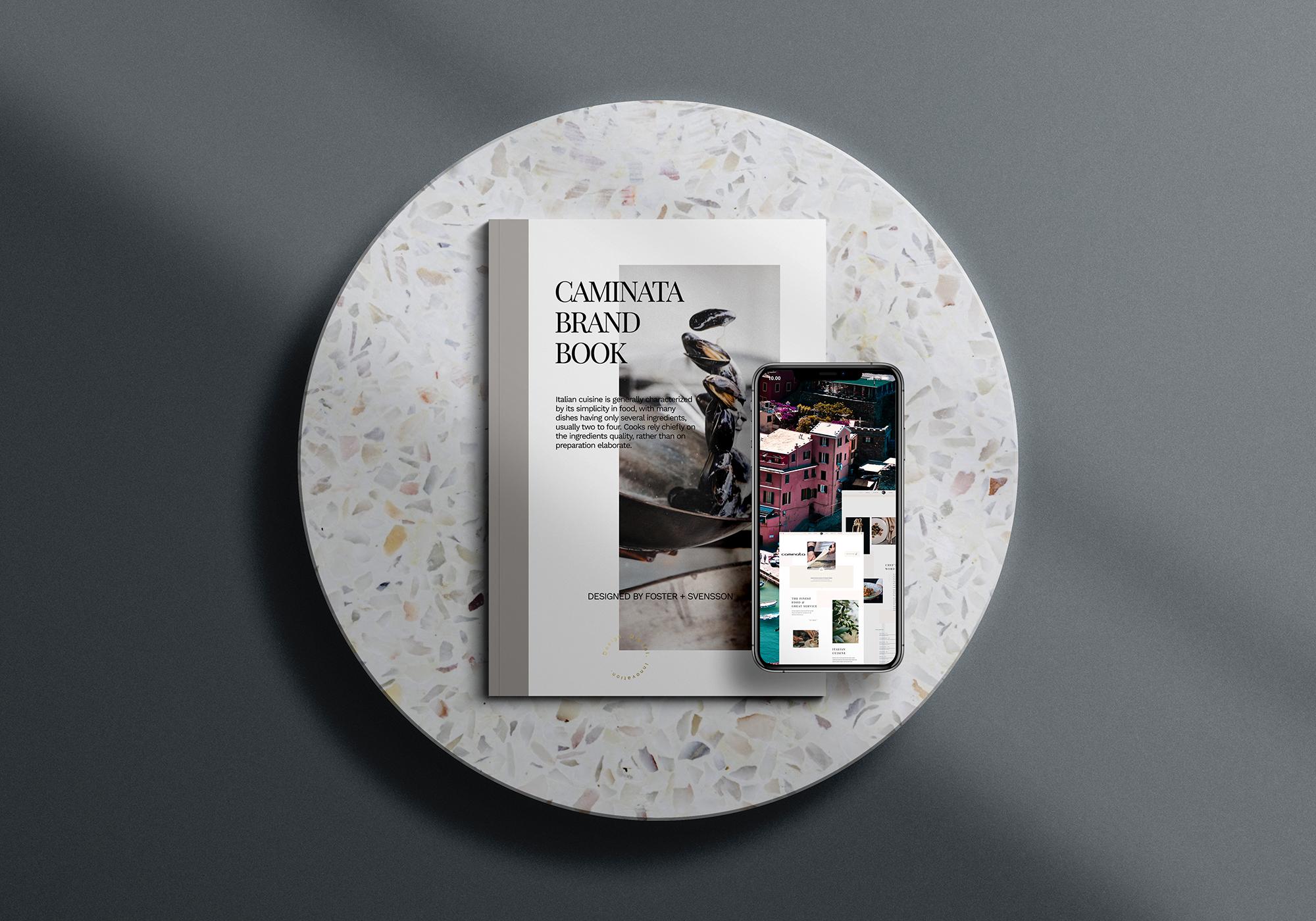 Caminata website redesign