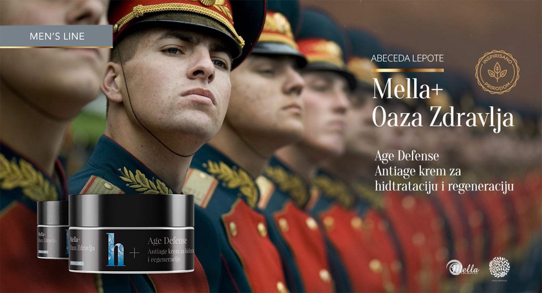 Mella+ Oaza Zdravlja Mens Line Age Defence