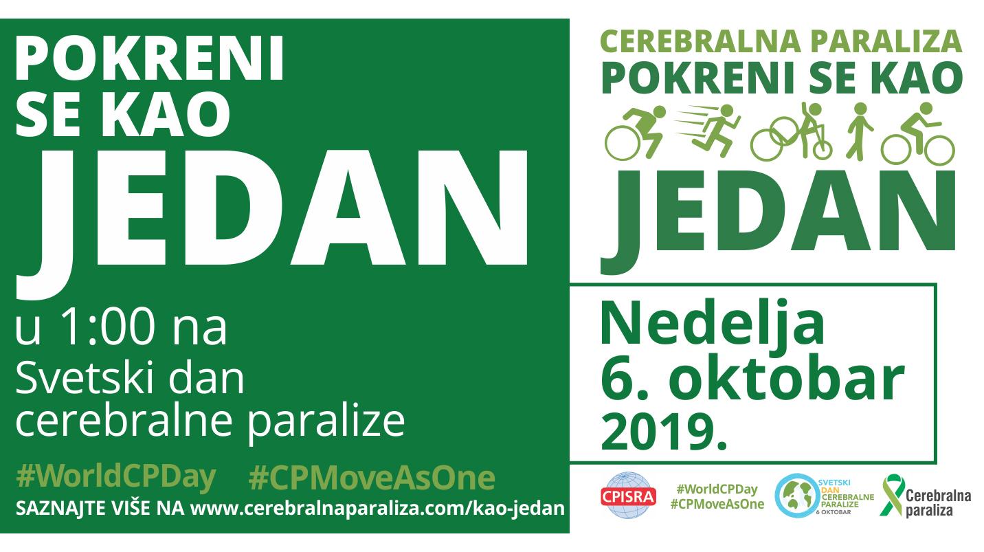 Svetski Dan Cerebralne Paralize