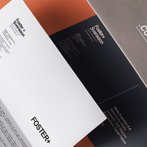 The World Brand Design Society Features Foster + Svensson Brand Identity32500