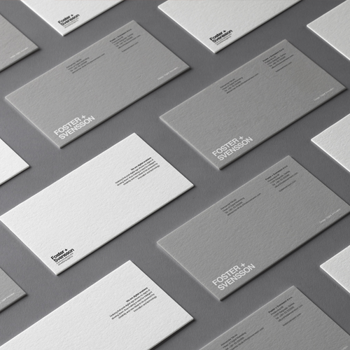 The World Brand Design Society Features Foster + Svensson Brand Identity4500
