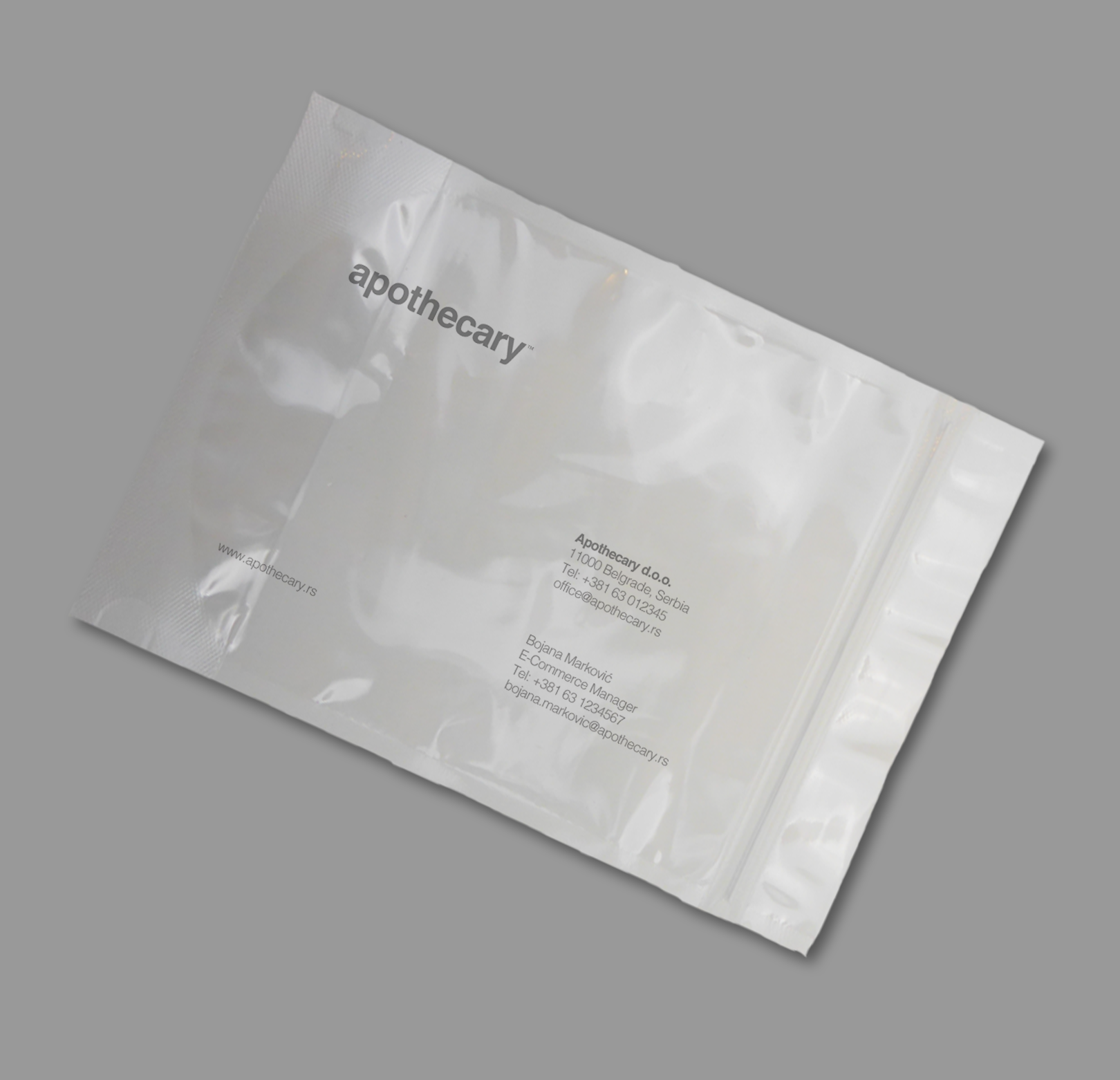 Apothecary Sacket